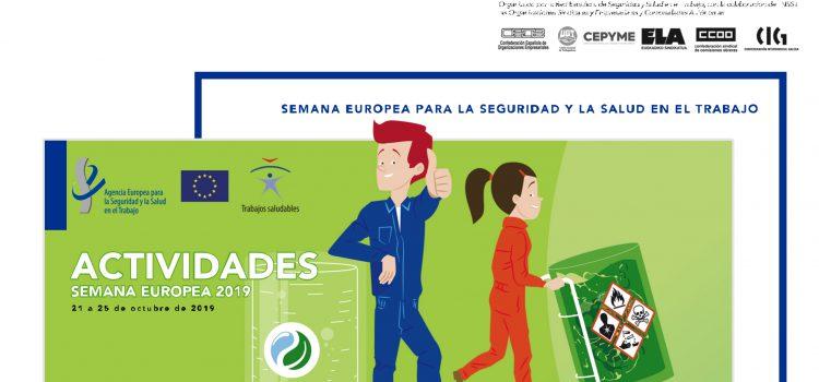 Semana Europea en España: por los lugares de trabajo saludables