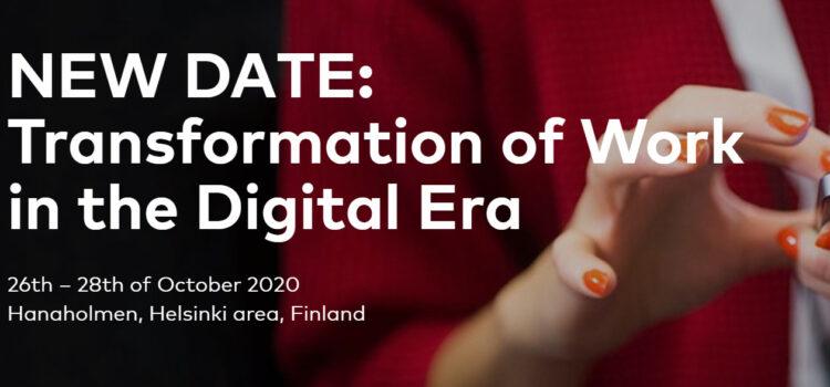 Transformación del trabajo en la era digital  – Finlandia