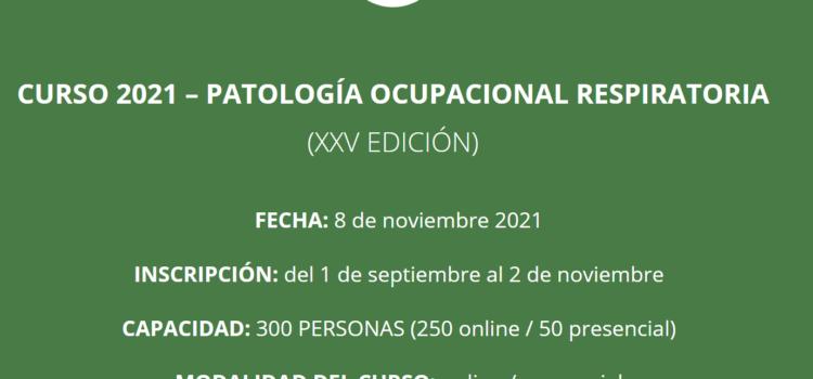 Patología ocupacional respiratoria